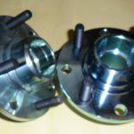 RX7 Series 1&2  Steel Front Hubs Dual 4 Stud Pattern