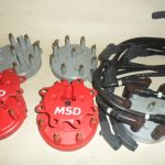 MSD Distributor Caps-Large + Lead Set